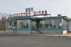 https://flic.kr/p/9zHTFV   USA Abandoned Diner   Rt 130 north. NJ