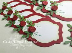 This Pin was discovered by Geo Noel Christmas, Christmas Paper, Christmas Gift Tags, Christmas Wrapping, Homemade Christmas, Xmas Cards, Christmas Projects, Simple Christmas, All Things Christmas