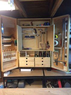 Workshop Tool Cabinet - by Pete Tevonian @ LumberJocks.com ~ woodworking community