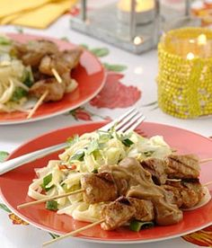 #Recept: Knoflook-korianderbahmi en BBQ sate met satesaus http://ift.tt/2kU3Eee #Hoofdgerechten