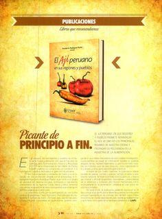 Revista EP - Libro: El ají peruano.