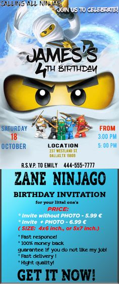 EXTRA LARGE Lego City **Personalised A4 Birthday Card** FAST Shipping