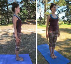 Samasthiti/Tadasana- Equal Standing pose / Mountain Pose