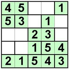 Number Logic Puzzles: 21540 - Bricks size 5