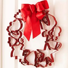 Cookie Cutter Holiday Wreath