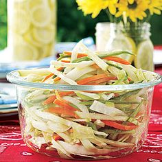 Crunchy Coleslaw - pinning this before I loose it....again, great recipe!