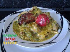 Sauce gombo foufou de manioc - Cameroun - YouTube