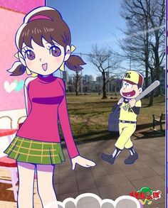 THE BEST GAMES FOR YOU: おそ松さんぽ Osomatsu Sanpo Android/IOS. Game like Pokém...