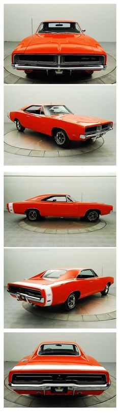 1969 Dodge Charger R/T My dad has a 2011 Dodge Charger and wow it looks way different #dodgechargervintagecars