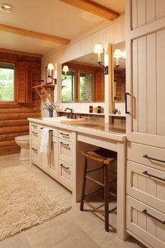 Country Oasis - traditional - bathroom - minneapolis - Sawhill - Custom Kitchens & Design, Inc.
