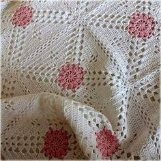 Transcendent Crochet a Solid Granny Square Ideas. Inconceivable Crochet a Solid Granny Square Ideas. Crochet Bedspread Pattern, Crochet Blocks, Granny Square Crochet Pattern, Afghan Crochet Patterns, Crochet Afghans, Crochet Squares, Crochet Motif, Baby Blanket Crochet, Crochet Designs
