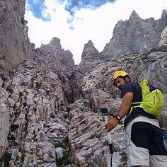 Climb Mytikas Peak Olympus Hiking Trips, Olympus, Climbing, Mount Everest, Grand Canyon, Greece, Most Beautiful, Explore, Mountains