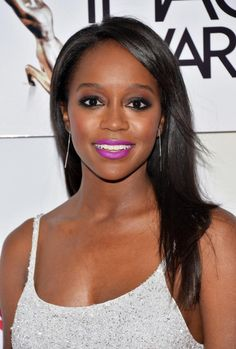 See How Aja Naomi King Got Ready for the NAACP Image Awards  #InStyle