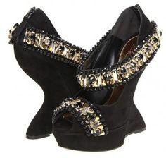 #shoes #wedges #alexandermcqueen