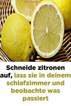 Cut lemons open leave them in your bedroom and watch what happens - Gesunder Lebensstil Fitness Workouts, Fitness Tips, Health Fitness, Detox Drinks, Healthy Drinks, Healthy Tips, Blog Love, Wellness Tips, Survival Tips