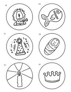 JSB Advent Ornaments 19 to 24