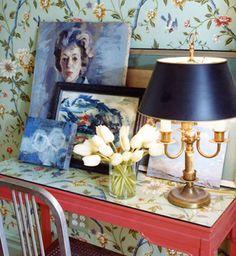 Chloe Sevigny's apartment - love the vintage feel