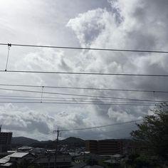 storm #photo #photography #photooftheday #photographer #sky #clouds #mountain #Japan #sight