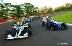 Pedro Piquet, Piloto Autotrac da F3, correndo em Santa Cruz.