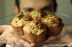Muffins vegani di avocado