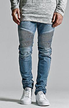 Medium Moto Stacked Skinny Jeans Urban Fashion Girls 9021edc5e9bfc