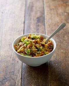 chopped apple quinoa salad
