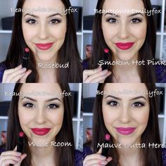 I finally got all the shades of the Wet n Wild Megalast lipsticks and I wanted to share with you this lip swatch video! I absolutely love the Wet n Wild Mega. Wet N Wild Lipstick, Long Wear Lipstick, Beauty Bar, Beauty Make Up, Hair Beauty, Beauty Stuff, Makeup Swatches, Makeup Dupes, Lipstick Swatches