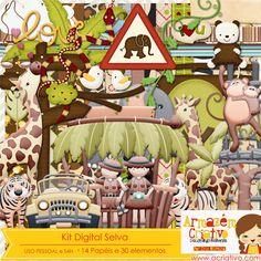 Kit digital selva já a venda na loja  http://acriativo.com/loja/index.php?main_page=product_info=34_id=643