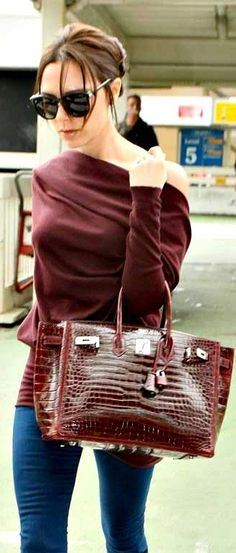 e3b1fa5e0c Celebrities and Famous People with Their Hermes Birkin Bag