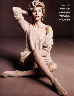 Polish model Anja Rubik photographed by Rafael Stahelin for the cover shoot of the fashion magazine Vogue Korea for their October 2012…