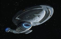 Star Trek: USS Voyager (NCC-74656) is Captain Kathryn Janeway's starship. (1995-2001) #1/5