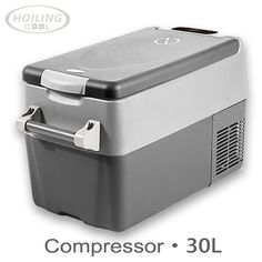 Leisure style 30 Litre\ Mobile freezer box \ Easy life for car DC compressor \ portable travel freezer can reach ℃ Camping Fridge, Cooler Box, Best Insulation, Cooling System, Energy Consumption, Freezer, Touch, Car, Electric