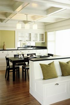 Kitchen Table With Wall Bench how a kitchen table with bench seating can totally complete your