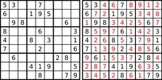 JavaScript Sudoku solver fits in a tweet | Geek-Cetera | Geek.com