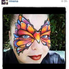 Why I miss face painting.  Could only dream of being this talented.
