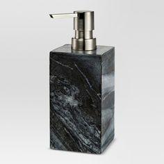 Marble Soap Pump Black - Threshold™ : Target