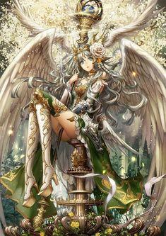 Anime Angel, Anime Oc, Female Anime, Female Character Design, Character Art, Fantasy Characters, Female Characters, Fantasy World, Fantasy Art