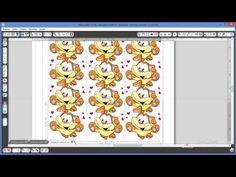 Silhouette - Técnicas de Print & Cut - YouTube