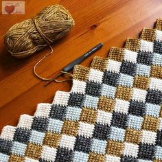 Fantastic Photographs Tunisian Crochet afghan Thoughts Abenteuer in Entrelac / Crochet Stitches Patterns, Crochet Afghans, Crochet Designs, Stitch Patterns, Knitting Patterns, Tunisian Crochet Blanket, Afghan Crochet Patterns, Knitting Ideas, Crochet Hooks