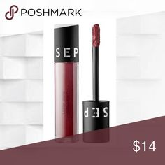 Sephora  Luster Matte Deep Plum Luster Lip Color Sephora Collection Luster Matte Long Wearing Lip Color: Deep Plum Luster features An ultralightweight ,modern matte lip color with a subtle sheen Sephora Makeup Lipstick