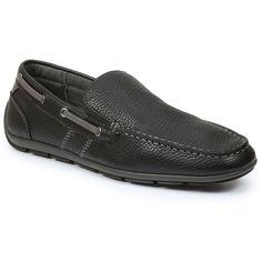GBX Ludlam Men's Slip-On Loafers, Size: 11.5, Black