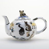 Cat-Tea Teapot 2 Cup