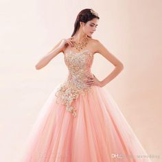 pink and gold dress - Google Search