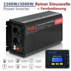 GC® 300W//600W Reiner Sinus Spannungswandler Wechselrichter 12V auf 230V Inverter