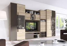 bondomus wohnwand toronto in wei wohnzimmer wohnzimmer m bel und w nde. Black Bedroom Furniture Sets. Home Design Ideas