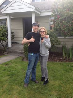 Thanks so much to this wonderful couple for hiring us to help with their move over the weekend! We really appreciate the thumbs up! And be sure to tell your friends and family about us! We love referrals!    Be sure to check out our facebook page too!  https://www.facebook.com/washingtonmoves