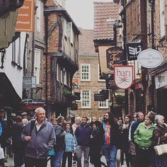 Take a walk down the #Shambles, one of the oldest streets in #England. #travel #history #travelgram #uk #York #Yorkshire. www.globetrotterguru.com/york-uk