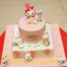 My Melody and bunnies, via Flickr.