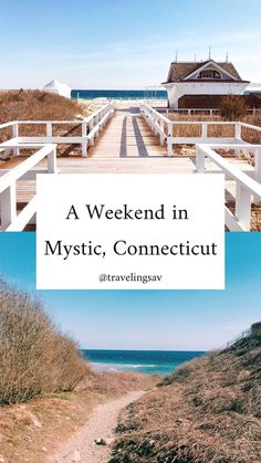Mystic is a cute little town in the Southeast corner of Connecticut. Home to the Mayflower and the famous Mystic Pizza, the town is set on Mystic River. Our Uber driver called the area a less crowd… New England States, New England Travel, East Coast Road Trip, Us Road Trip, Places To Travel, Places To Go, Travel Destinations, Rhode Island, Minneapolis