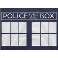 Police Box For Who T-Shirt on Yellow Octopus  #kriskringle #police #box #t-shirt